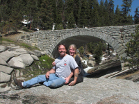 Dave & Christine in Kings Canyon