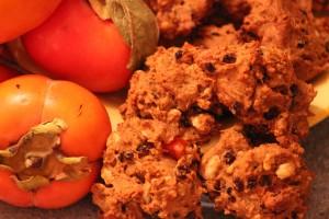 Autumn_Persimmon Macadamia Nut Cookies